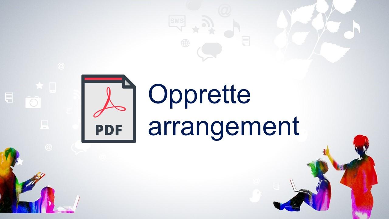 Endre arrangement - pdf-format