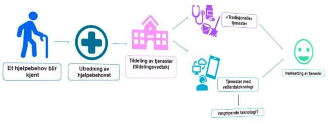 Velferdsteknologi og juridiske temaer, Direktoratet for e-helse