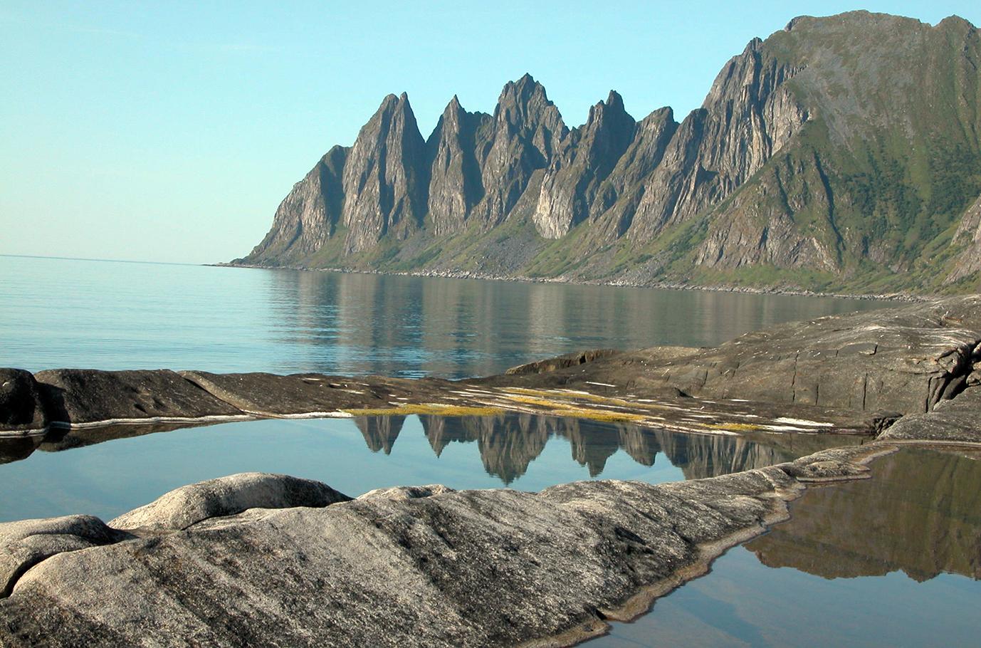 Okshornan, Ersfjordstranda