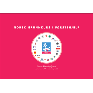 Forsiden til hefte Norsk Grunnkurs i Førstehjelp