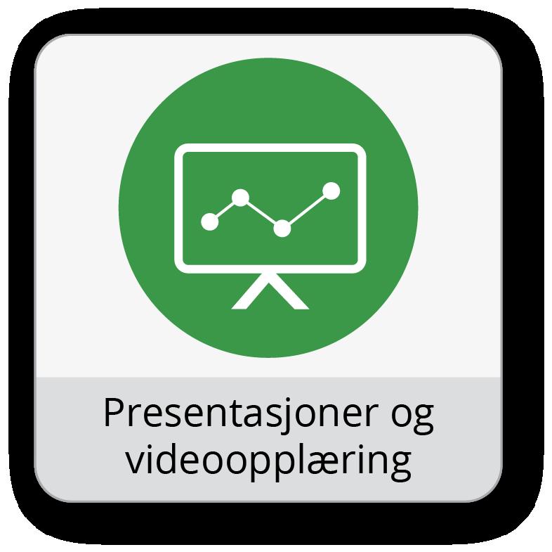 Presentasjoner og videoopplæring